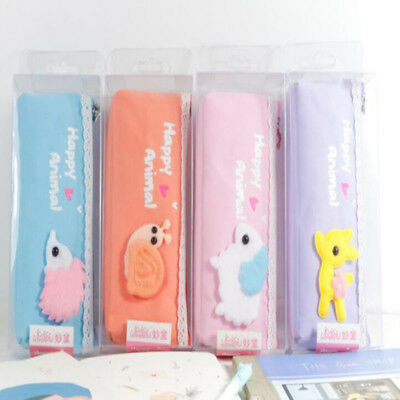 Animal Korean Version Large-capacity Pen Holder Stationery Pouch Pencil Cases BS