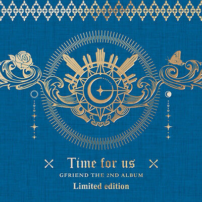 GFRIEND [TIME FOR US] 2nd Album LIMITED CD+POSTER+PBook+Lyrics+Mobil+Stand+2Card