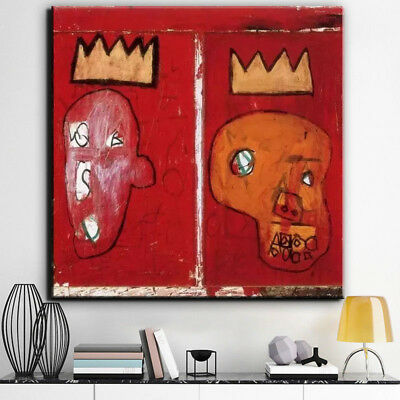 Little Crown by Jean-Michel Basquiat art print poster Oil Painting on Canvas