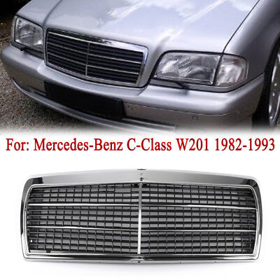 EVO Look Front Center Grill Grille For MERCEDES-Benz W201 190E 190D 1982-1991