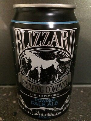 1 X 330ml Blizzard Brewing - Powder Pale Ale Craft Beer Can - Painted