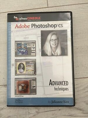 Advanced Techniques by Julieanne Kost DVD Adobe Photoshop training