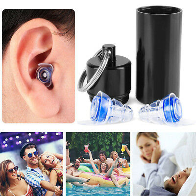 New Noise Cancelling Ear Plugs Hearing Protection Music Concerts Sleeping