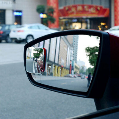 498F Car Rearview Mirror Square Adjustable Blind Spot Mirror External Accessorie