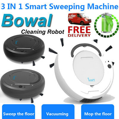 1800PA 3 in 1 Smart Sweeping Robot Sweep Suction Drag Machine Wet and Dry Vacuum
