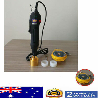 NEW handheld electric capping machine bottle cap Sealing Machines AU SHIP