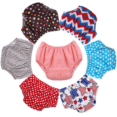 Kids Baby Girl Boy Summer Cotton Diaper Nappy Cover PP Pants Shorts Bloomers