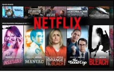 Netflix Prenium abonnement HD 12 Mois STANDARD  Android Video FR EU