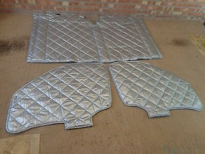 3-Pc Internal Silver Screen / Thermal Cover / Thermal Blind (Unbranded) - Vgc