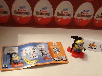 KINDER  - Les Minions - Despicable ME3 - SD700 + BPZ