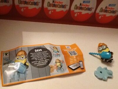KINDER  - Les Minions - Despicable ME3 - SD744 + BPZ