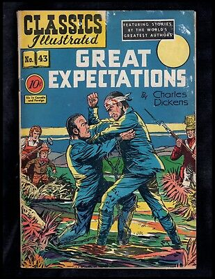 Classics Illustrated #43 G (O) Hrn43 (Great Expectations) Charles Dickens