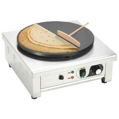 Electric Crepe Maker Pull-out Tray Large Pancake Machine Professional 3000 W