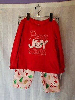 Just one you made by Carter's 2 Piece Girls Pajama Set 4t