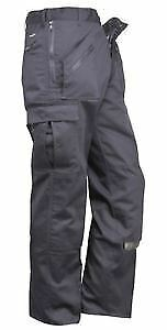 "PORTWEST S887S Action Trouser Navy, Size: 40"" Leg:29"