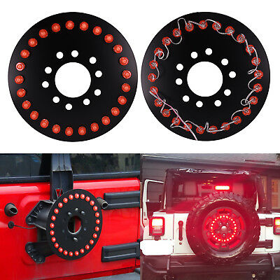 Brake Lamp For Jeep 2007-2017 Wrangler JK Red Light Durable