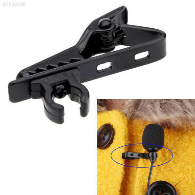 3EA1 Portable Microphone Mic Lapel Lavalier Tie Clip Holder Clamp Replacement
