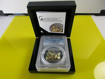 2018 $10 Palau Laughing Buddha 2oz .999 Silver Proof Coin PCGS PR69DCAM FD