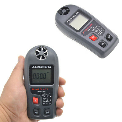 TL302 Digital Portable Anemometer Wind Speed Gauge with Max Min Function SW D2I9