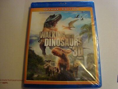 Walking With Dinosaurs 3D Movie *Deluxe Edition* Blu-Ray 3D+Blu-ray+DVD+Digital