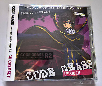 Code Geass R2 Anime CD Case Set of 3 Official Japan Movic NEW