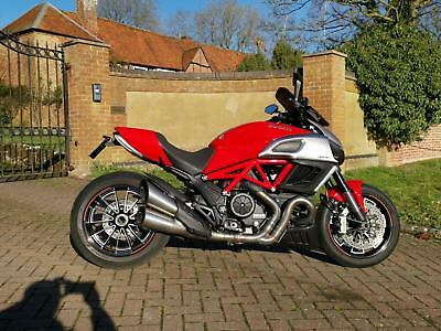 Ducati Diavel 1200 2012 Red, Full Service History, Tail Tidy, Puig Screen + More