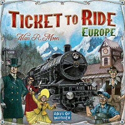 Ticket To Ride Board Game: Europe