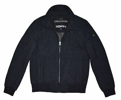 Superdry Limited Edition Idris Elba Mens Bomber Jacket Medium M50500YN