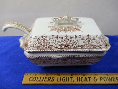 Tournay Royal Premium T&R Boote England 33645 Covered Tureen w/Ladle Transfer