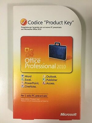 Office Professional 2010 32/64 Bit PKC 269 14843 - Download from Microsoft