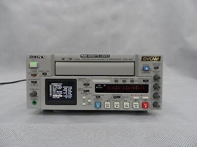 Sony DSR-45P DVCAM Video Player Recorder Low Use Only Operation 406 x 10 Hours