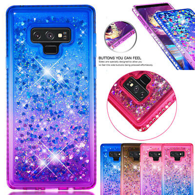 Shockproof Bling Diamond TPU Quicksand Case Cover for Samsung Galaxy Note9/S8 S9