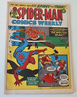 Spider-Man Comics Weekly - Marvel Comics - Issue # 22 - dated July 1973 - (863)