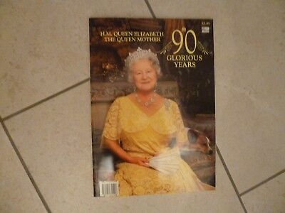 VINTAGE  The Queen Mother - 90 Glorious Years
