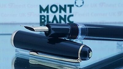 Mont Blanc Fountain Pen 3-44 Piston Filler 14k Gold Nib Function Excellent  K93