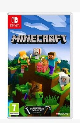Minecraft Bedrock Edition (Nintendo Switch) IN STOCK NOW New & Sealed UK PAL
