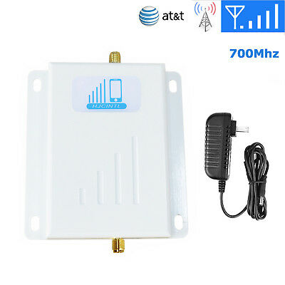 4G LTE AT&T Cricket Signal Booster Cell Phone Amplifier 700MHz SMA Mainframe 65d