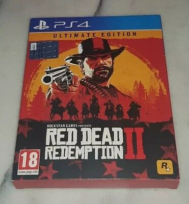 RED DEAD REDEMPTION II 2 ULTIMATE EDITION Playstation 4 PS4 PAL ITA