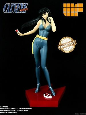 CAT'S EYE HITOMI  RESIN MODEL STATUE COMPLETE  PREPAINTED Limited edition anime