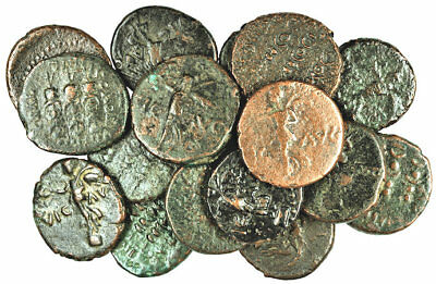 FORVM Lot 17 Nice Roman Provincial Coins of Philippi Macedonia 41-68 AD