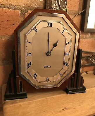 Rare Gents Of Leicester Electric Mantal Clock