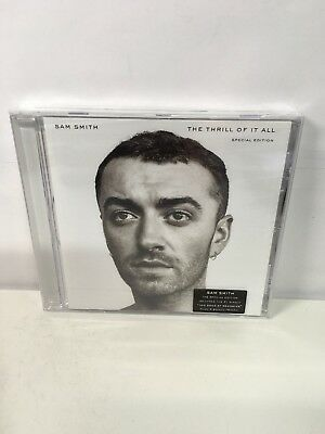 Sam Smith: The Thrill Of It All - Special Ed Album [CD] (2017) New & Sealed UK