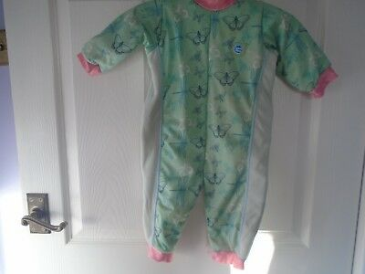 "Splash about ""warm in one "" outfit size medium approx"