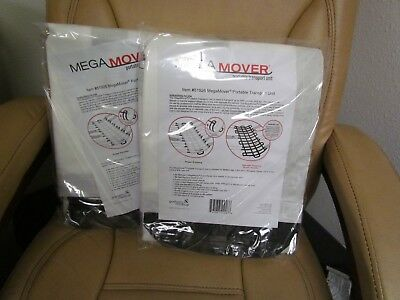 (2)GRAHAM Mega Mover 1000# Portable Transportation Unit 51926 40x80 EMS 1500 NEW