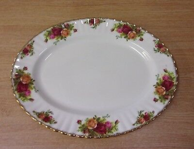 Royal Albert Old Country Roses Oval Plate Platter Serving 33cm