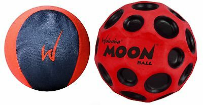 Waboba Extreme & Moon Ball Set Bounces On Water Fun Crazy Outdoor Pool Fun