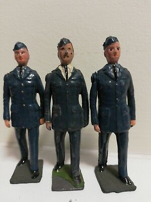Three RAF NCO figures.