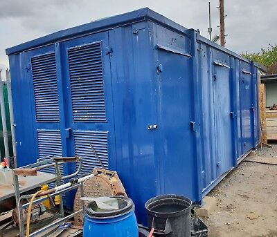 Welfare Unit 24 x 9 ft Canteen,Toilet, Electric Shower, Store