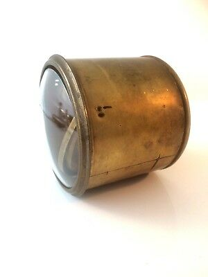 Antique Brass Drum For French Balance Wheel Movement