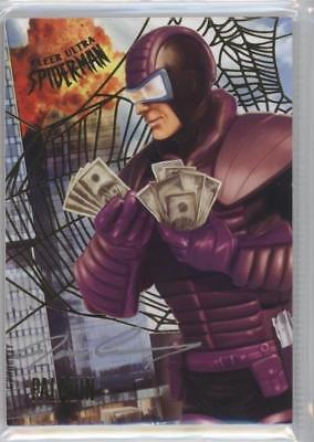 2017 Fleer Ultra Spider-Man Marvel Joe Corroney Artist Auto #35 Paladin #06/49